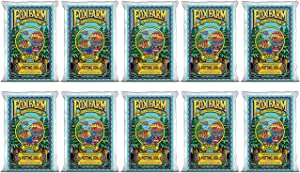 Foxfarm FX14000 Ocean Forest Indoor/Outdoor Garden Potting Soil Bags 6.3-6.8 pH, 1.5 Cubic Feet, 40 pounds for Plants (10 Pack)