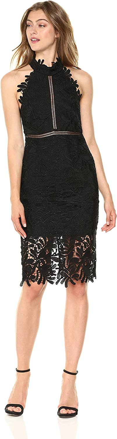 Bardot Womens Kara Halter Dress Dress