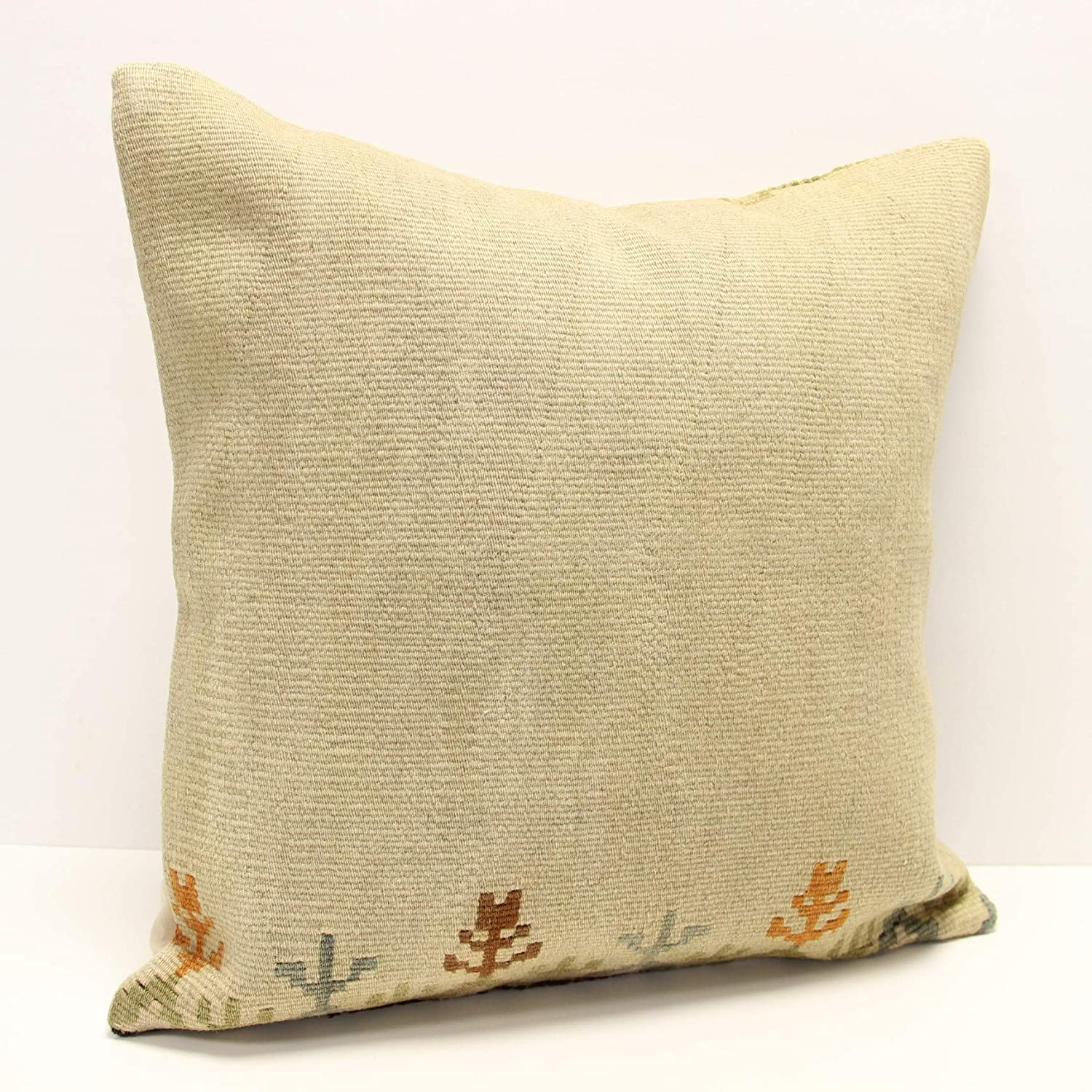 New Shipping Free Oakland Mall Throw kilim Pillow cover 20x20 handmade tra nomadic bolster inch
