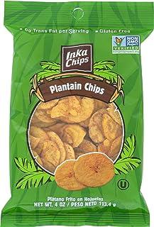 Inka Plantation Chips, Sea Salt, 4 Oz,Pack of 1