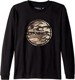 O'Neill Kids - Boarder Long Sleeve Screen Tee (Big Kids)