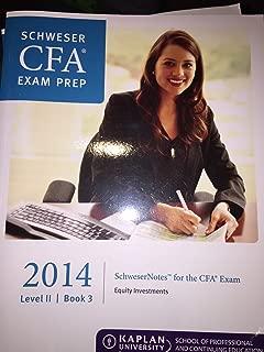 Schweser CFA Level 2 Kaplan Reviews Notes + Secret Sauce + Quicksheet + Practice Exams 1&2 + Qbank + Online Classes