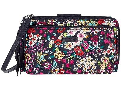 Vera Bradley Deluxe All Together Crossbody (Itsy Ditsy) Cross Body Handbags