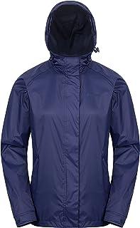 Mountain Warehouse Torrent Womens Waterproof Rain Jacket -Lightweight