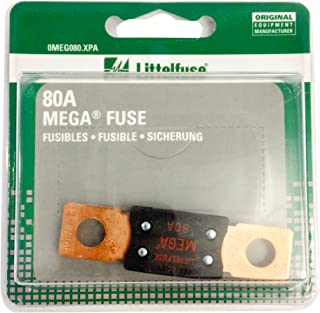 Littelfuse 0MEG080XPA Mega 80-500A Bolt-Down Fuse