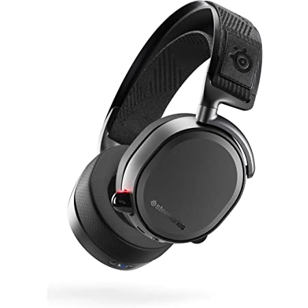 SteelSeries Arctis Pro Wireless Gaming Headset - Lossless High Fidelity Wireless + Bluetooth for PS5/PS4 and PC - Black