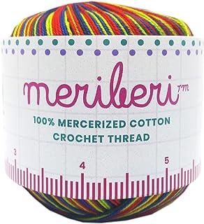 Mercerized Cotton Crochet Thread 8 Variegated Singles 191yrds (Garden)