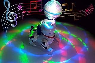 Popsugar Musical Dancing Dog with Lights for Kids,