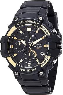 Casio Mens Quartz Watch, Analog Display and Resin Strap MCW-110H-9AVDF