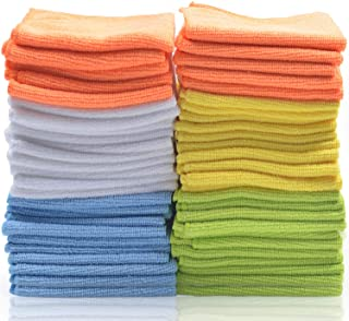 Best Microfiber Cleaning Cloths – Pack of 50 Towels