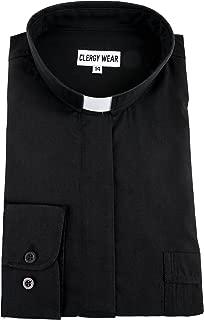 Women's Long Sleeve Tab Collar Clergy Shirt