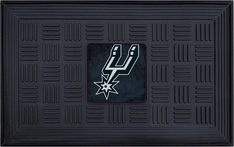 FANMATS NBA San Antonio Vinyl Max Ranking TOP6 53% OFF Spurs Door Mat