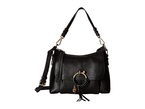 Joan Suede & Leather Small Shoulder Bag by See By Chloe