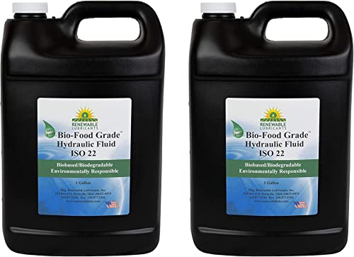 discount Renewable discount Lubricants high quality 87103 Food Grade Hydraulic Oil, 1 gal., Yellow (Two Pack) outlet online sale