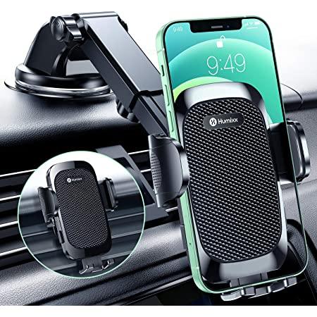 Humixx Handyhalterung Auto Saugnapf Upgrade Dual Release Button Handyhalter Fürs Auto Lüftung Windschutzscheibe 3 In 1 Universale 360 Drehbar Kfz Handyhalterung Für Iphone Samsung Lg Huawei Elektronik