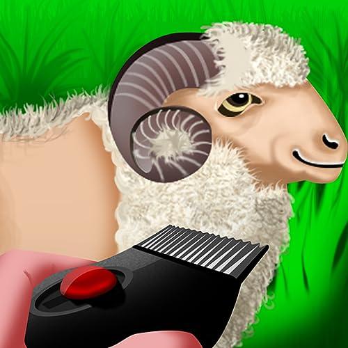 Wooly Sheep Shave : o dia pastor cordeiro de barbear para a colheita de lã - Pro