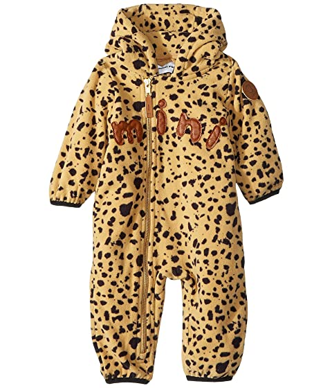 mini rodini Fleece Spot One-Piece (Infant)