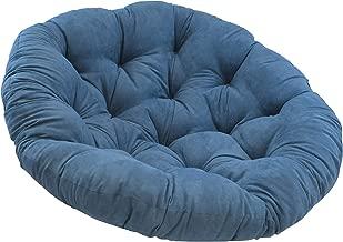 Blazing Needles Solid Microsuede Papasan Chair Cushion, 52