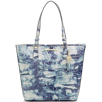 Brahmin Asher Melbourne Tote (Chambray) Handbags