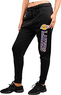 NBA Women's Jogger Pants Active Basic Fleece Sweatpants
