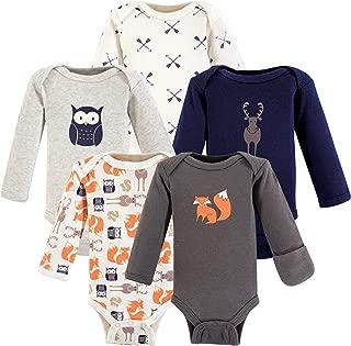 Hudson Baby Baby Preemie Bodysuit, 5 Pack