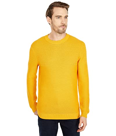 Selected Homme Conrad Crew Neck Sweater (Golden Glow Twisted) Men
