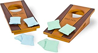 Viva Sol Miniature Version of Classic Bean Bag Toss Game Perfect for a Desk or Table