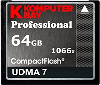 Komputerbay Professional - Memoria Compact Flash de 64 GB (udma 7 1066x) Negro