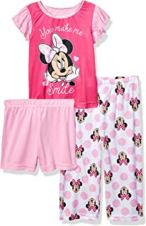 Toddler Girls' Minnie Mouse 3-Piece Pajama Set