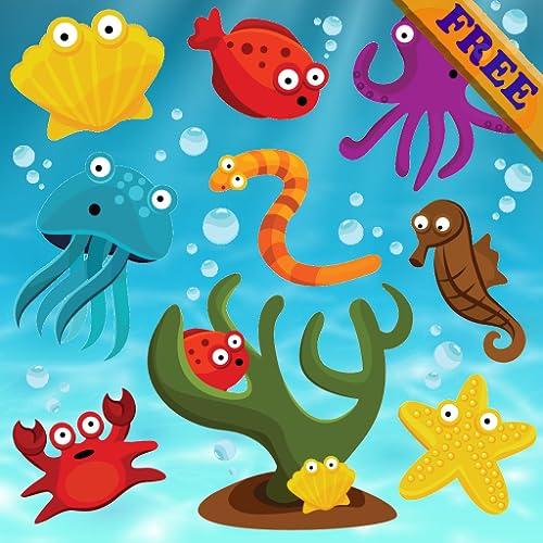 Fische Puzzles für Kleinkinder und Kinder FREE