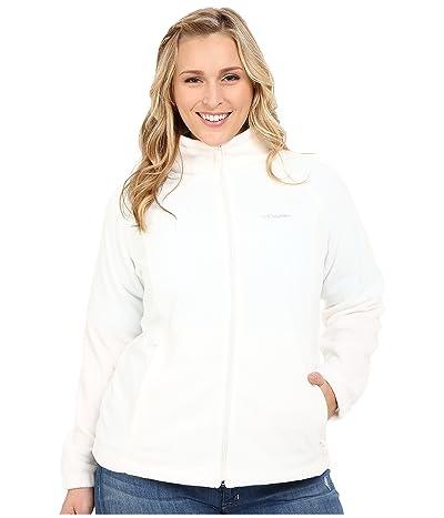 Columbia Plus Size Benton Springstm Full Zip (Sea Salt) Women