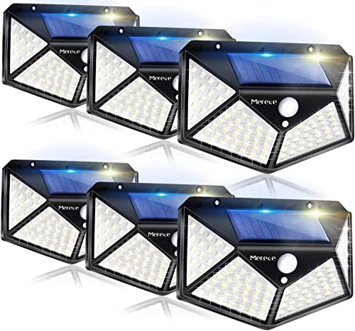 new arrival Solar Lights Outdoor 6 Pack, 100LED/3 Modes 270° Lighting Angle Motion Sensor discount Security Lights, Wireless IP65 Waterproof Wall Lights Solar Powered, sale Bright for Backyard Garden Fence Patio Front Door outlet sale