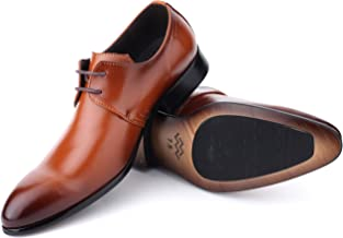 Mens Oxford Shoes Formal Leather Mens Dress Shoes - Men Wedding Shoes in A Bag