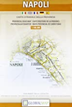 Naples {Napoli} Campania, Provincial Road Map (English, Spanish, French, Italian and German Edition)