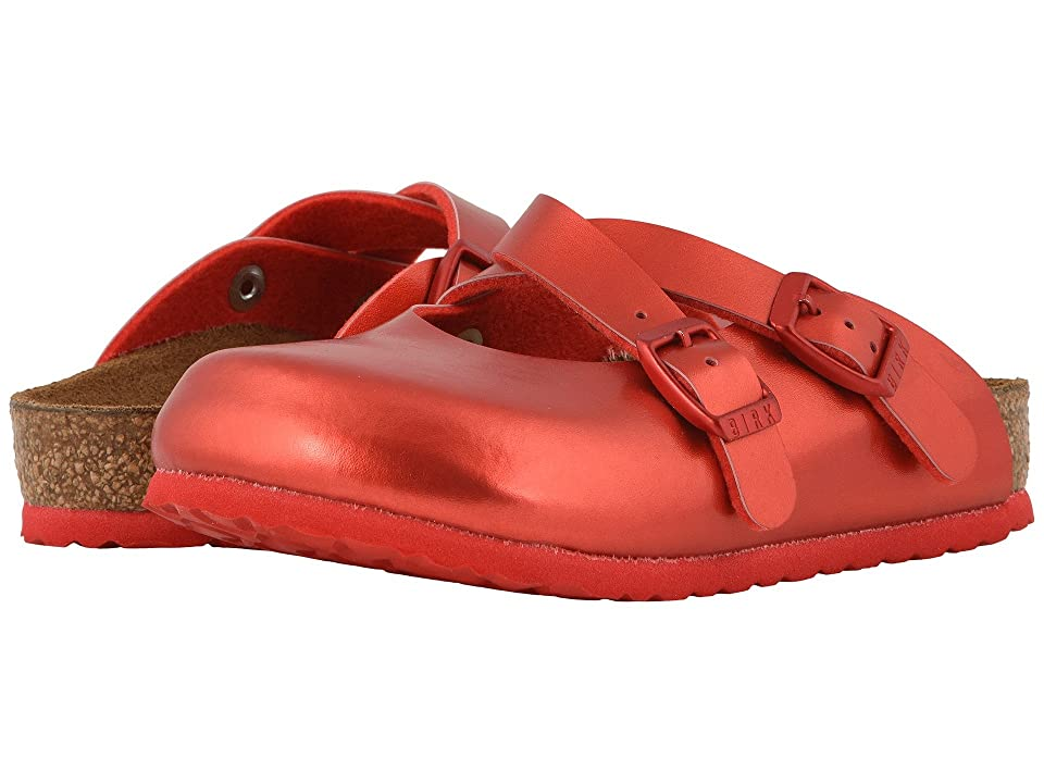 842e91fd54a Birkenstock Kids Dorian (Toddler Little Kid Big Kid) (Soft Metallic Red
