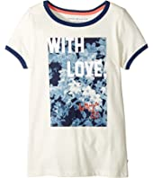 Tommy Hilfiger Kids - With Love Tee (Big Kids)