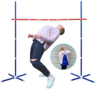 GIGGLE N GO Limbo Outdoor Games for Adults and Family - Limbo Game for Kids Party Games, Backyard Games, Lawn Games or Out...