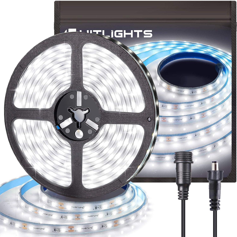 HitLights outlet LED Strip Lights Waterproof White Superior 16.4FT Cool 300LEDs