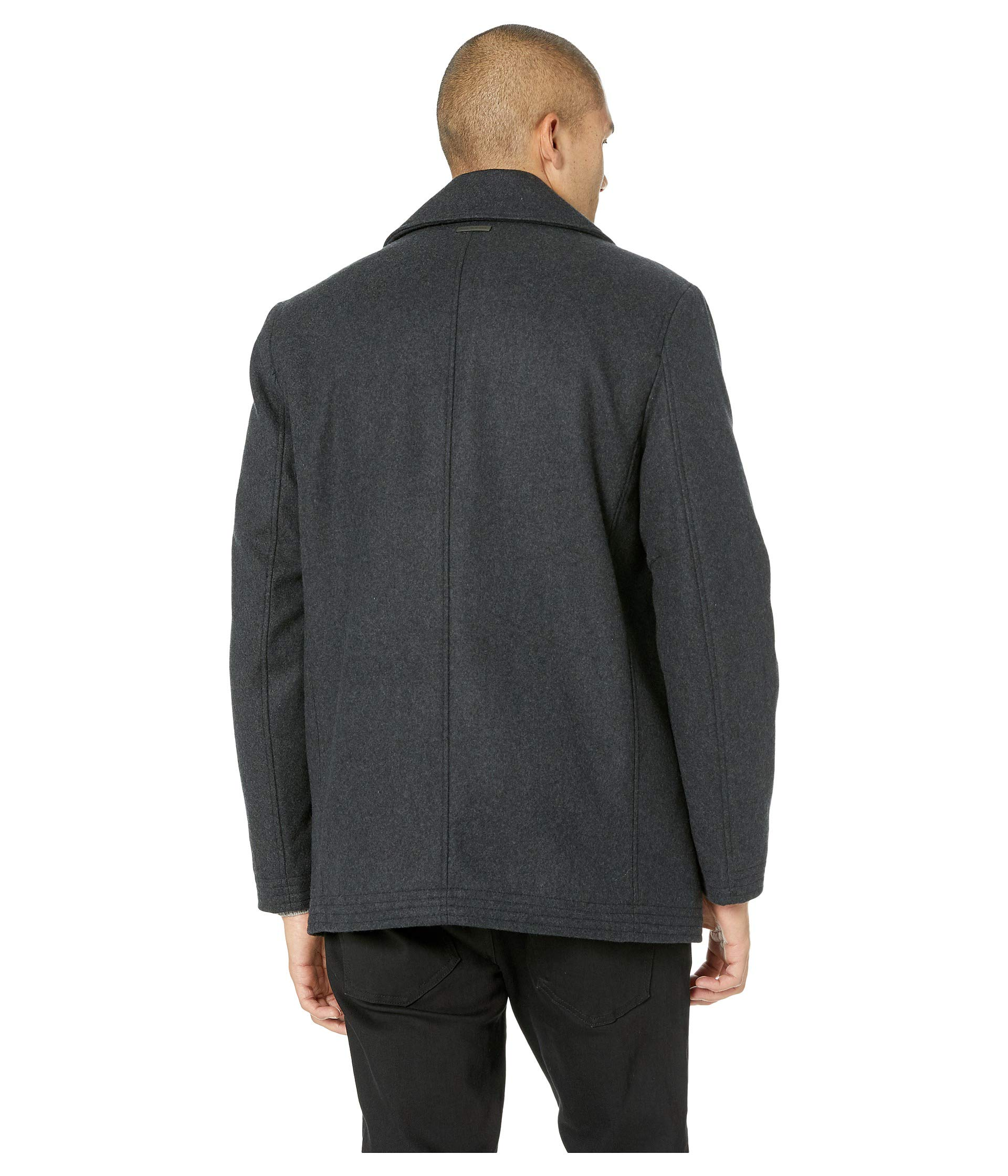 New Andrew Trim Melton By Peacoat Charcoal Bib Wool York W Marc Pu Knit 6HOxd6