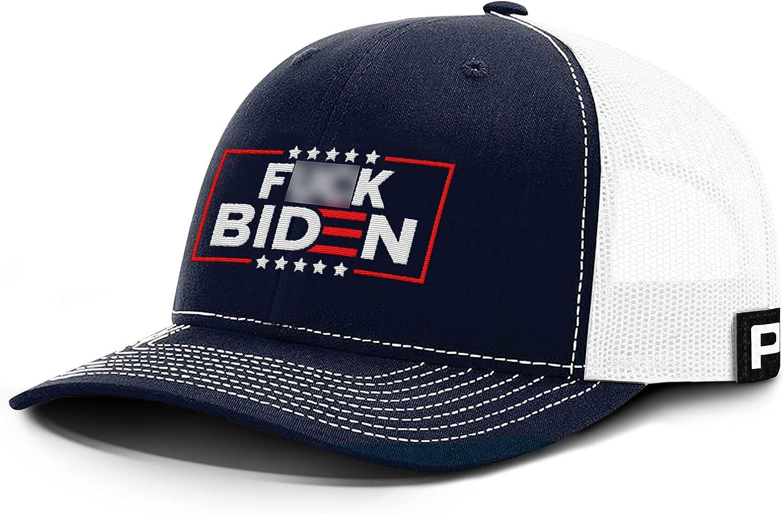 Printed Kicks F-K You Biden Uncensored Back Mesh Hat Buck Fiden Baseball Cap