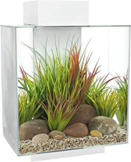 Fluval Edge Aquarium Set, Gloss White, 46 L