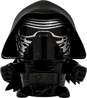 BulbBotz Despertador Infantil Kylo Ren, Negro, 8.89x12.7x13.97 cm, 2021388