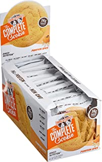 Lenny & Larry's The Complete Cookie, Pumpkin Spice, Soft Baked, 16g Plant Protein, Vegan, Non-GMO, 4 Ounce Cookie (Pack of 12)