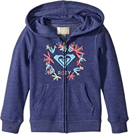 Roxy Kids - Autumn Wind Flower Logo Hoodie (Toddler/Little Kids/Big Kids)