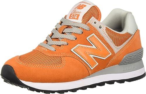 New Balance Ml574E - Sneaker da Uomo, Arancione (Arancio Varsity ...