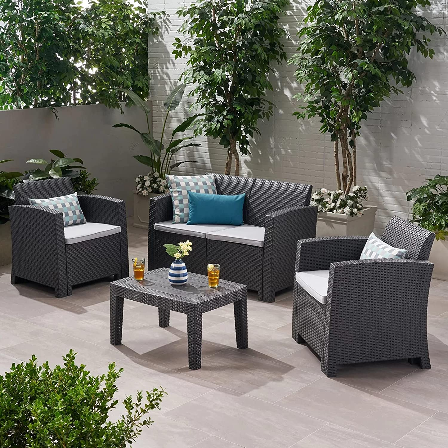 Wicker At the price Patio Furniture Sets Ranking TOP13 Set Furgle Outdoor