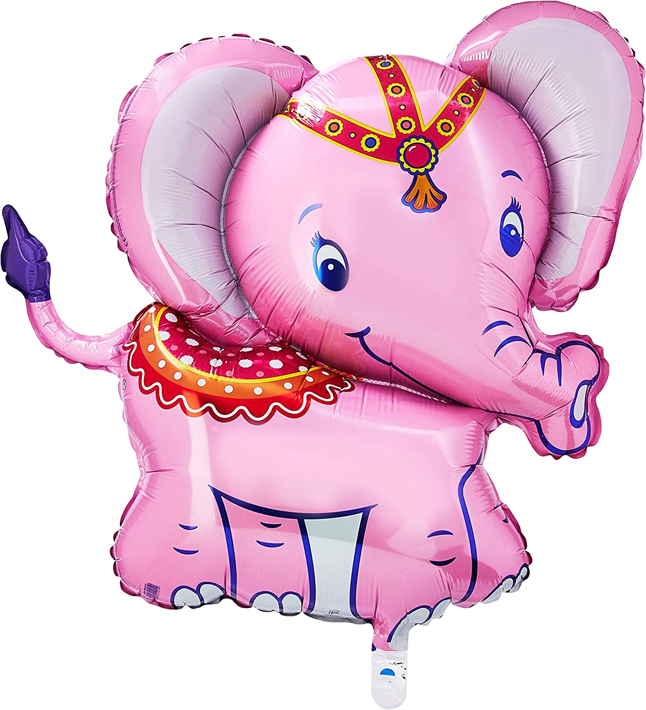 Circus Elephant Foil Balloons