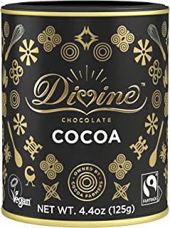 Divine Chocolate Great Black Box with Gold