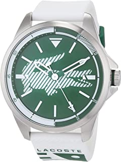 Lacoste Men'S Green Dial Silicone Band Watch - 2010965