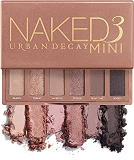 Urban Decay Naked3 Mini Eyeshadow Palette - Pigmented Eye Makeup Palette For On the Go - Ultra...